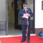 Predsednik PGD Mozirje Jože Zlatinšek